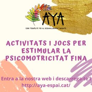 GUIA_PROPOSTES ACTIVITATS PSICOMOTRICITAT FINA_CAT